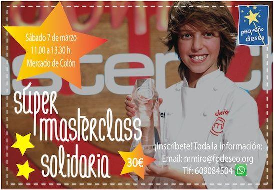 Manuel, ganador de Masterchef Junior dará una Masterclass Solidaria - http://www.valenciablog.com/manuel-ganador-de-masterchef-junior-dara-una-masterclass-solidaria/