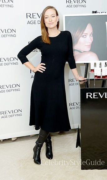 Olivia Wilde Style and Fashion - The Row Stasia Dress on Celebrity Style Guide