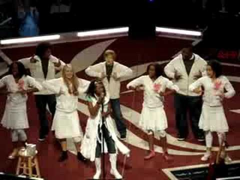 saw this live, Nicole C Mullen, My Redeemer Live, one of my all time favorite songs... she sings and signs the song, it will bring you to tears and a smile to your face, maybe some goosebumps!