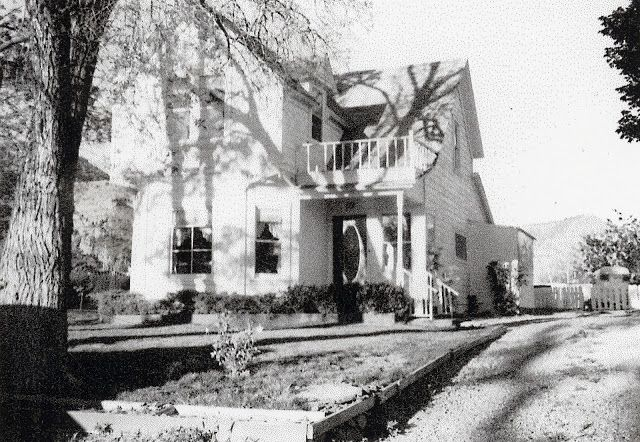 My grandparents home history Kanab Heritage: James W. And Harriet Johnson Swapp. ordered this two-story frame Victorian eclectic crosswing house from Sears & Roebuck in 1912.  It included 3 bedrooms, living room, dining room, kitchen and pantry, & paint, flooring, shingles and china closet for $644.00. The precut, numbered house sections were shipped from Chicago to Marysvale, Utah by rail, then brought to Kanab by team and wagon via Johnson Canyon.  It was the assembled on the lot in Kanab.