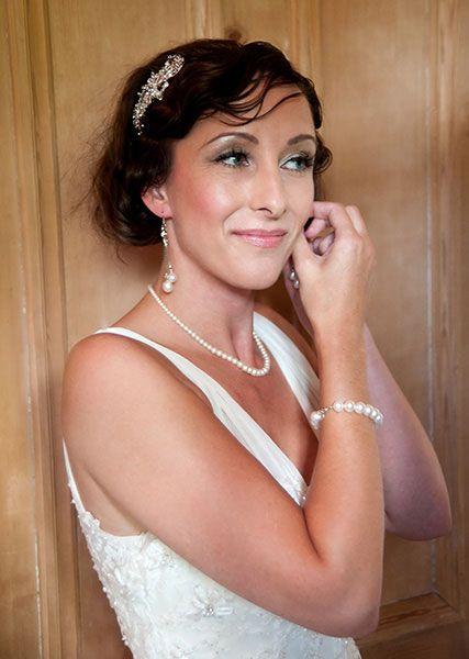 Joanne Pearson MUA natural smokey bridal makeup