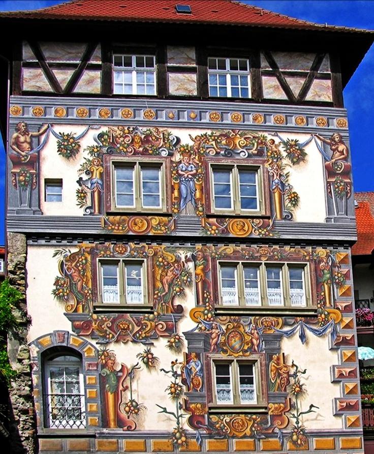 The work involved. whaaaa  Konstanz, Germany   Wohnturm zum Goldenen Löwen