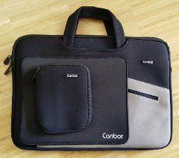 Canbor Laptoptasche Notebooktasche Water-resistant Laptophülle Laptop-Tasche 14 15 15.6 Zoll für Apple Macbook Pro / Notebook Computer / Ultrabooks / HP Dell Acer Lenovo Asus Sony - Schwarz 15.6 Zoll http://amzn.to/1rDK34H