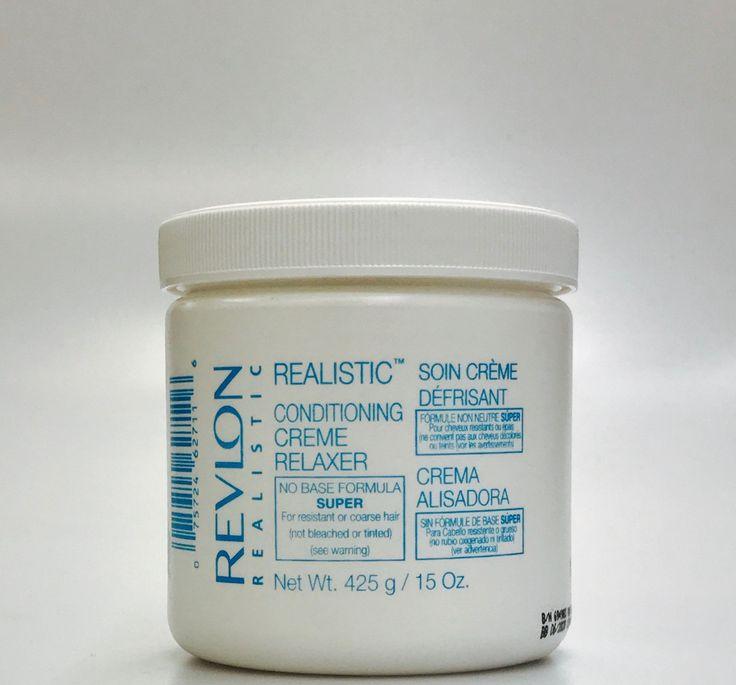 Revlon Professional Realistic Creme Relaxer Super (15 Oz)