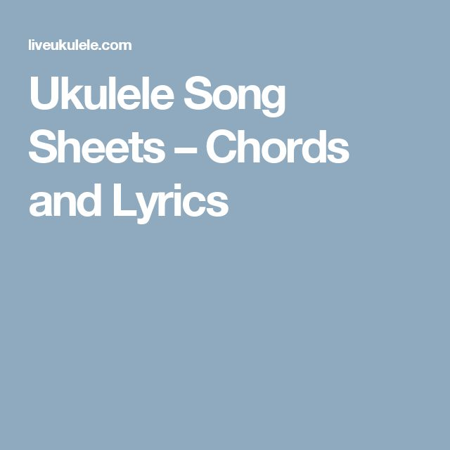 1000+ Ideas About Song Sheet On Pinterest