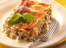 creamy chicken lasagna yummy-food