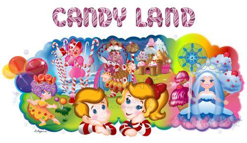 Designspiration - Candyland Dream  #sofun #candyland #design #art