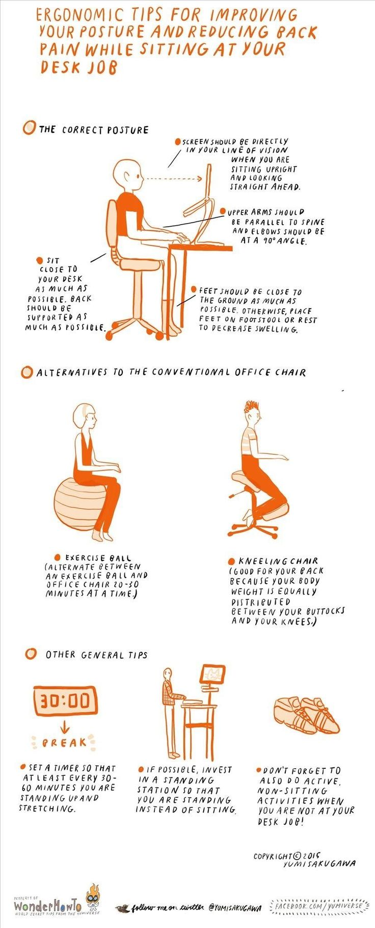 Best office chair for neck pain - Ergonomic Tips For Improving Posture Reducing Back Pain While Sitting All Day Long
