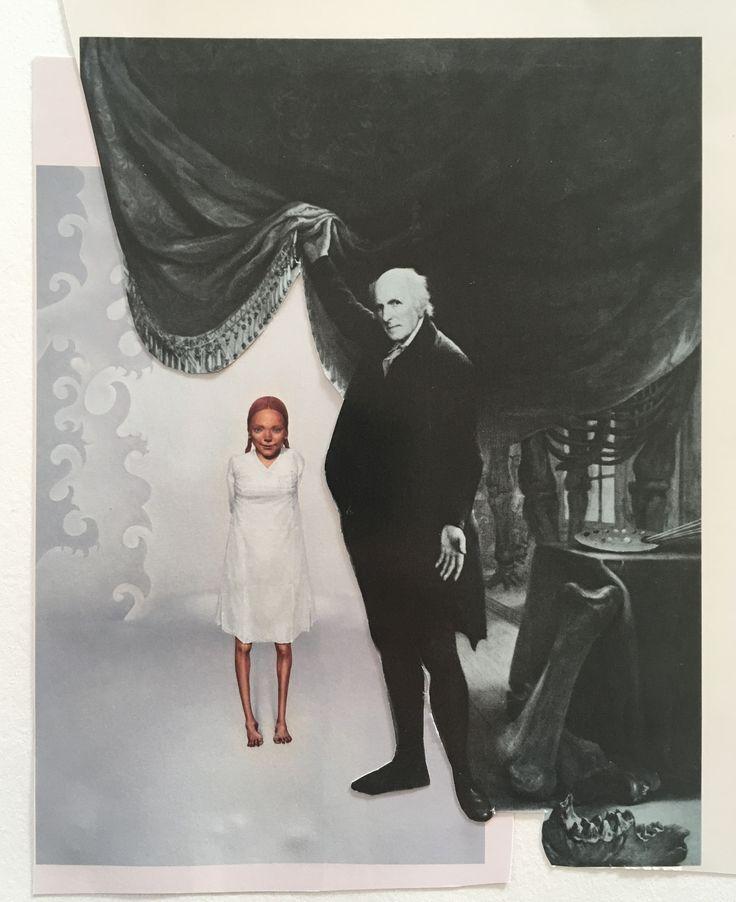 Markus Boesch  / Collage 12.5 cm x 15,5 cm