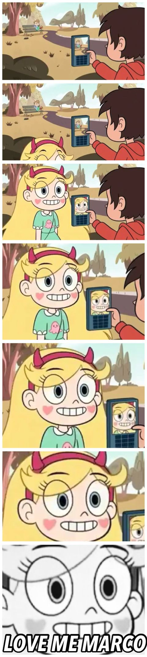 LOVE ME MARCO  Star vs the Forces of Evil Credit @livieblue