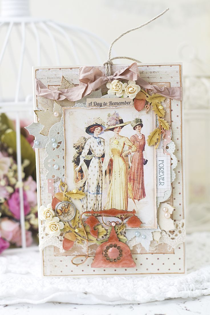 """Вдохновение: Открытка """"Винтажная""""/ Vintage Card"""