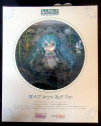 グッドスマイルカンパニー ねんどろいど ボーカロイド/キャラクターボーカルシリーズ 493 雪ミク(初音ミク) スノーベルver/Snow Miku(Hatsune Miku) -Snow Bell ver-