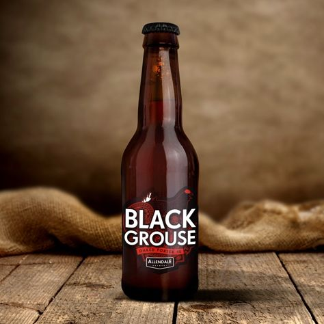 """I've recently made a fantastic discovery in Allendale Brewery. Tried """"Wolf"""" ruby ale, """"Tar Bar'l"""" stout and this amazingly flavorsome """"Black Grouse"""" porter. """"Allendale Pale Ale"""" is in the fridge chilling!"""