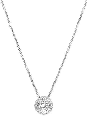 Nordstrom Pavé Pendant Necklace available at #Nordstromweddings. Love this for my wedding day!!!