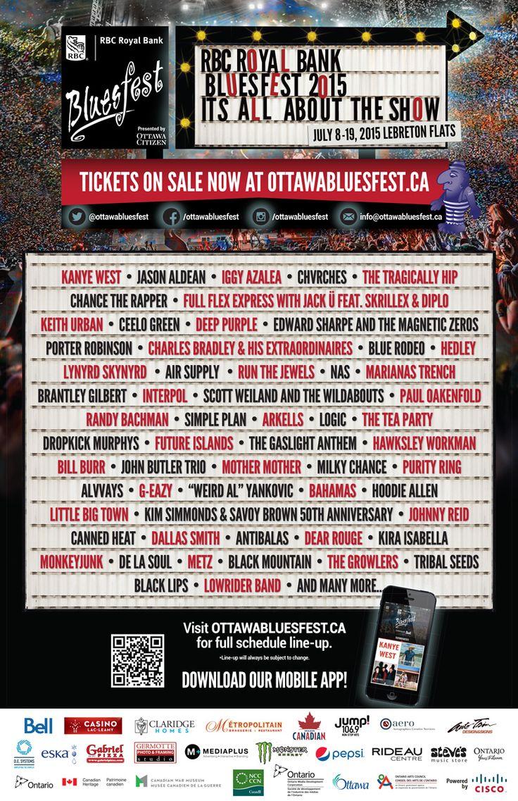 RBC Ottawa Bluesfest 2015