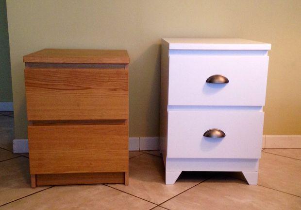 best 25 bedside table makeover ideas on pinterest. Black Bedroom Furniture Sets. Home Design Ideas