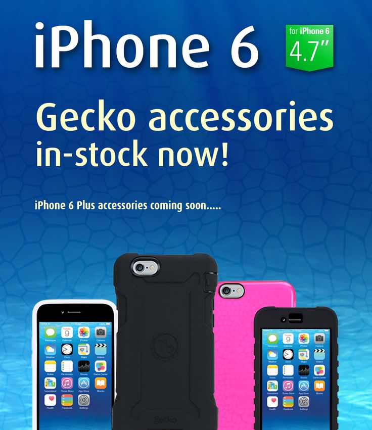 Gecko Accessories for iPhone 6