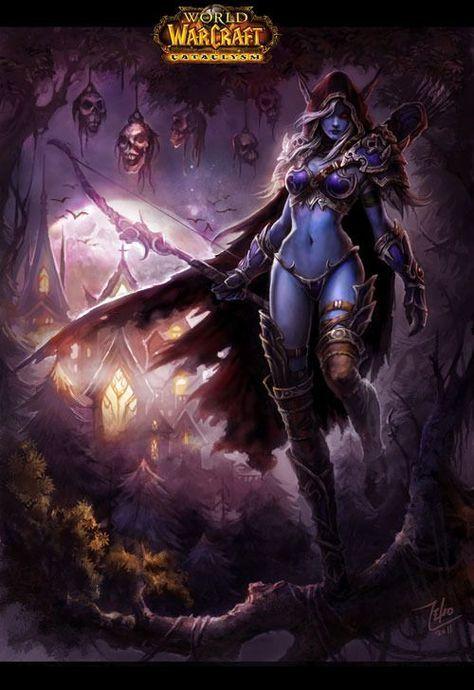 Lich King Iphone Wallpaper Sylvanas Windrunner Warcraft Legion Heroesofthestorm
