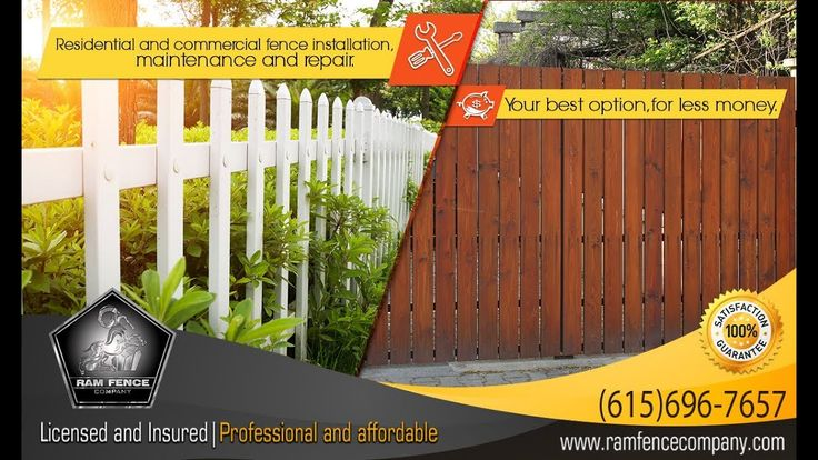 Residential and commercial fence, installation, maintenance and repair