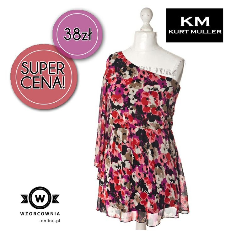 CENA DNIA: Sukienka Kurt Muller 38,00 zł  DOSTĘPNA TUTAJ --> http://bit.ly/1eSQkA3