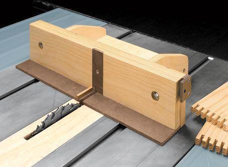 Adjustable Box Joint Jig Woodsmith Plans Herramientas