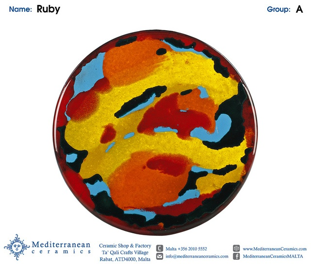 Design: Ruby (A) by Mediterranean Ceramics, via Flickr