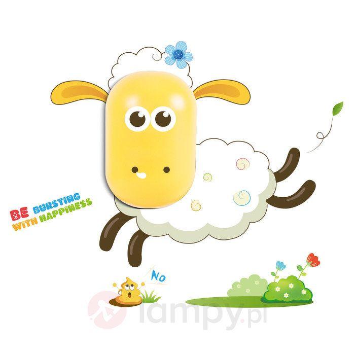 Zabawna lampka nocna LED Sheep dla dzieci 5251012