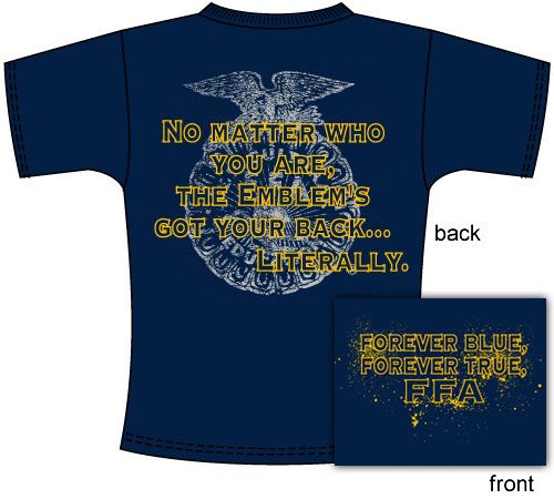 Vote for your favorite FFA Chapter T-shirt designs!    http://shop.ffa.org/2012-chapter-tee-contest-c1548.aspx