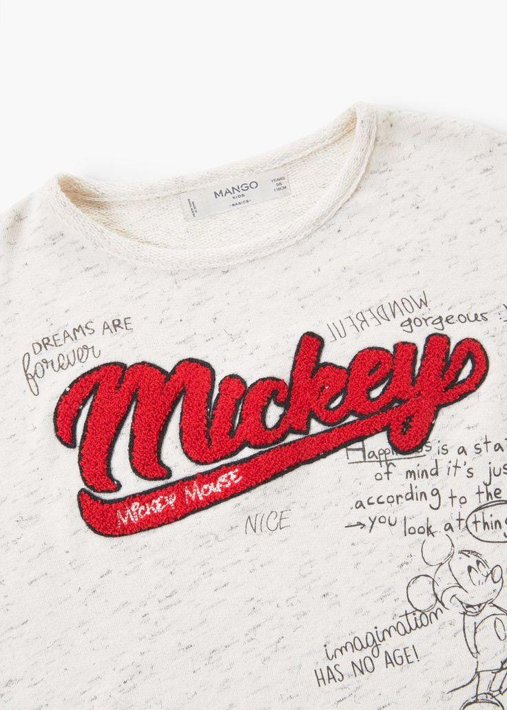 플렉트 미키 마우스 스웨트셔츠 | MANGO KIDS