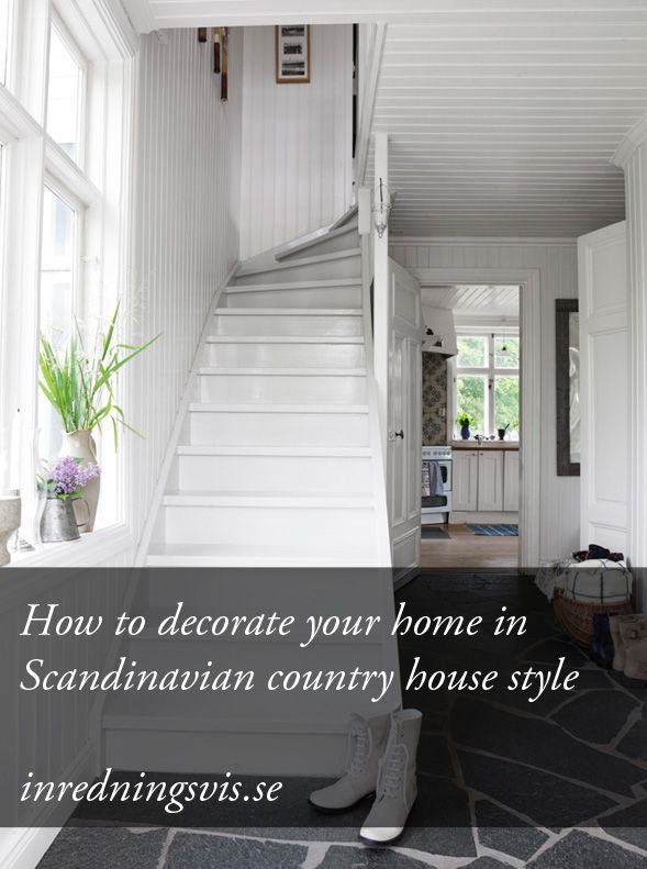 How To Decorate Your Home In Scandinavian Country Style  Http://inredningsvis.se