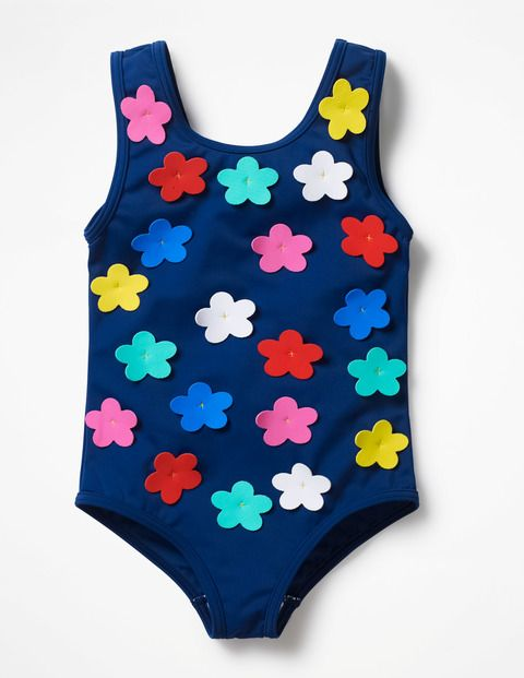07fd69f59d3df Make a splash with these colourful swimming costumes, featuring  eye-catching appliqué details. Take a dip with the friendly whale or a  mermaid with a ...