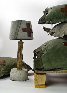 Lampvoet Compleet Stapelgoed Leger