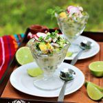 Mexican Ceviche or cebiche is a dish prepared with raw fish that is usually marinated in lime juice and other fresh ingredients. It is usually prepared with fish, but you can also find it made using shrimp, octopus, crab, and clams. Visit our site to check out the full recipe.