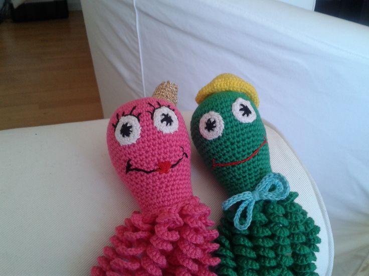 Blæksprutter til Agnes og Benjamin