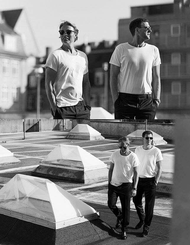 Mads with Anders Thomas Jensen