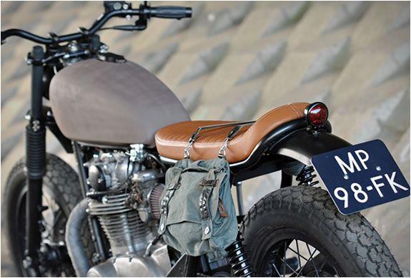 Yamaha XS 650 scrambler #motorcycles #scrambler #motos | caferacerpasion.com