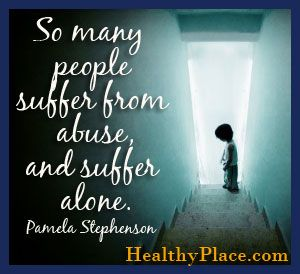 "We need to remove the ""alone""  . . . we need to shine a light on the suffering, and find a way to stop the suffering."