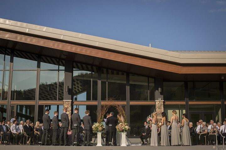 Host your wedding at Alpine Ski Club in the Blue Mountains. Wonderful views of Georgian Bay.