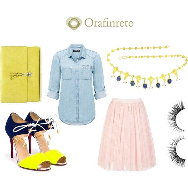 POP COLORS / FANCY MOOD by orafinrete on Polyvore featuring moda, Forever New, Ted Baker, Christian Louboutin, Wallis and Breil
