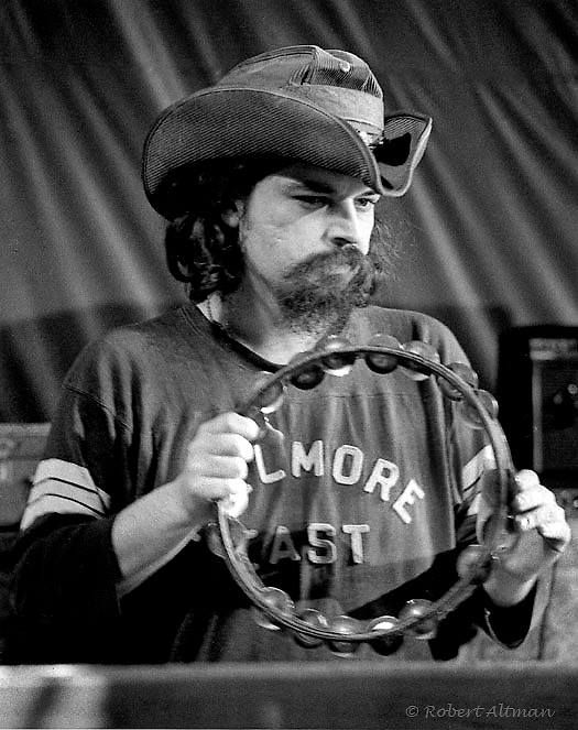 """Ron McKernan, """"Pigpen"""", founding member of the the Grateful Dead, at The Family Dog - Feb 1970 Photo © Altman: all rights"""