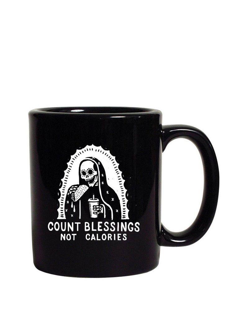 Count Blessings Not Calories Mug