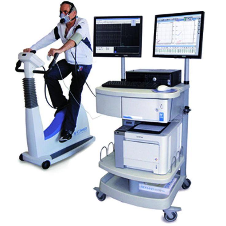 Ergospirometria Quark CPET - Kompaktowy system do badań wysiłkowych firmy BTL