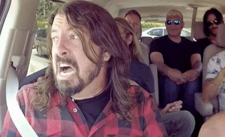Foo Fighters- Carpool Karaoke