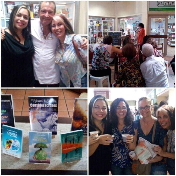 Todos los asistentes se fueron felices, relajados por esa bella meditación que realizamos. ¡Excelente compartir! Todos los #libros del Dr. Hoffmann están a la venta en tu #LibreríaElClip (Más inf: 0251-2541669)  #Paz #Conciencia #EventosElClip #Barquisimeto #Lara #Venezuela