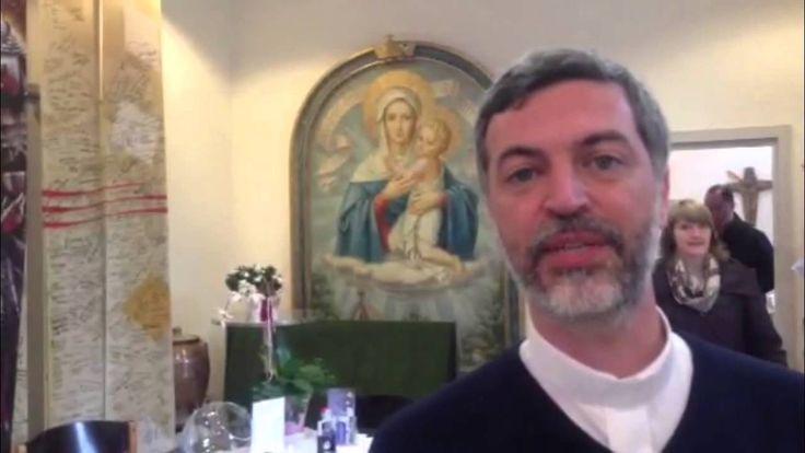 La Virgen peregrina visitó el Santuario original de Schoenstatt