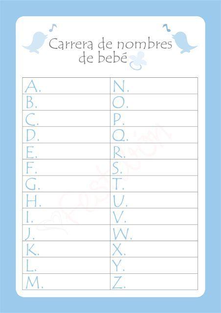 Baby Shower Juegos En Espanol Para Imprimir Gaurani Almightywind Info