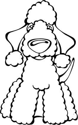 Angry Squirrel Studio - Bedlington Terrier Decal Dog