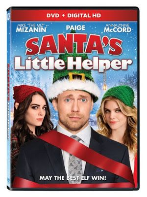 """Santa's Little Helper is a funny comedy movie DVD starring WWE Superstar Mike """"The Miz"""" Mizanin and Diva Paige. A fun family comedy for the Christmas season."""