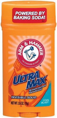 Arm & hammer ultramax anti-perspirant & deodorant wide stick, cool blast - 2.8 oz