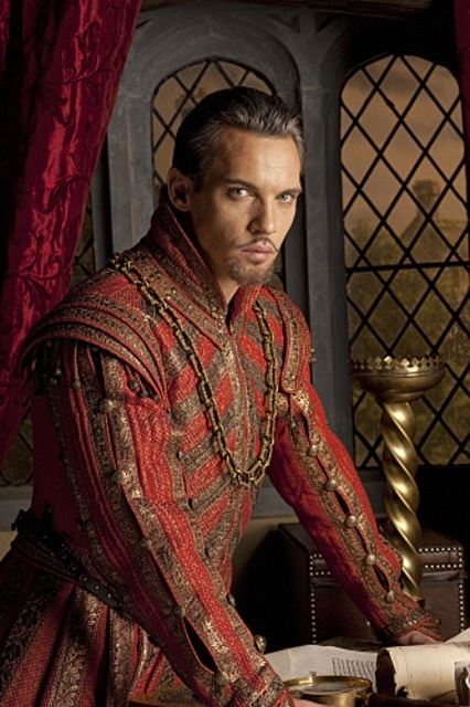 Jonathan Rhys Myers as Henry VIII in the series 'The Tudors'